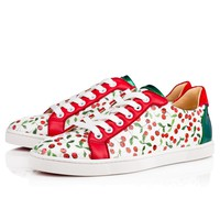 Seava Women's Flat Version Multi Leather - Women Shoes - Christian Louboutin