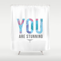 Stunning Shower Curtain by Ashley Hillman