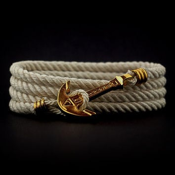 Wrap Bracelet Sea Nautical Marine Rope