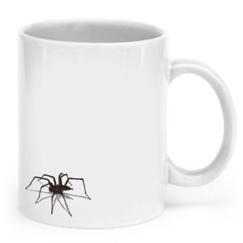 Creepy Spider Coffee Mug - Limited Release for Halloween! spidercoffeemug