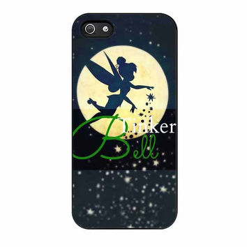 tinkerbell in the moon christmas cases for iphone se 5 5s 5c 4 4s 6 6s plus