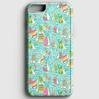 Lilly Pulitzer Sailboat iPhone 7 Case