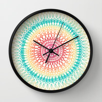 Radiate Wall Clock by Tangerine-Tane