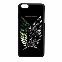 Attack On Titan Wing Of Freedoms iPhone 6 Case