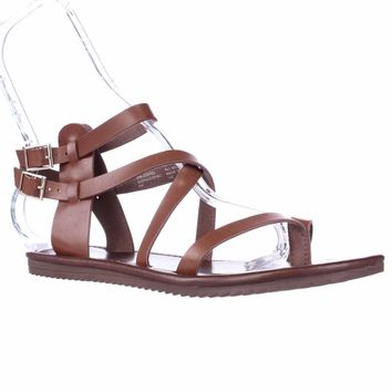 Seven Dials Sync Ankle Strap Sandals, Luggage, 7 US