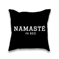 Namaste in Bed Pillow