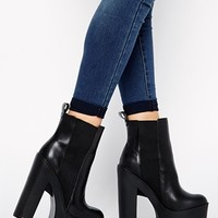 Windsor Smith Grunt Cleated Sole Chunky Boots