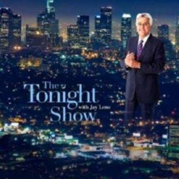 Tonight Show Jay Leno poster Metal Sign Wall Art 8in x 12in