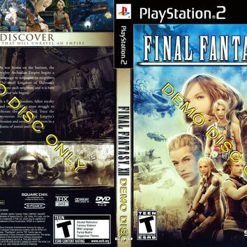 Final Fantasy XII - Demo Disc - Playstation 2 (Game Only)