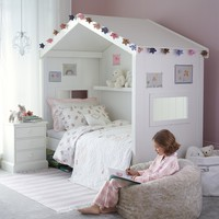 Classic Little White Day Bed - White
