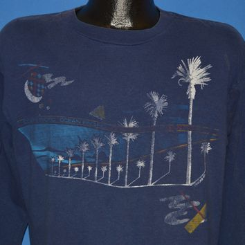 90s Ocean Pacific Palm Tree Long Sleeve t-shirt Large