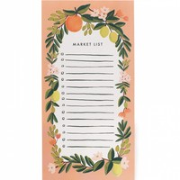 Citrus Floral Coral Market Pad by RIFLE PAPER Co. | Made in USA