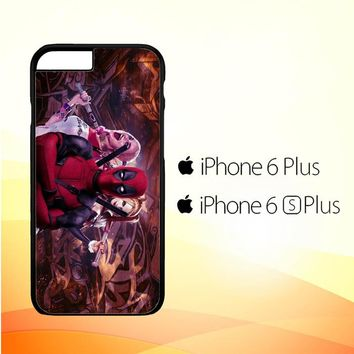 Harley Quinn and Deadpool O0692 iPhone 6 Plus|6S Plus Case