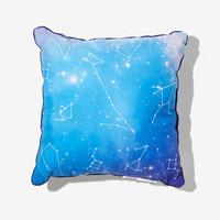 Constellation Galaxy Print Throw Pillow