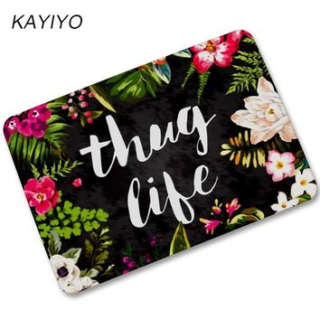 Autumn Fall welcome door mat doormat KAYIYO Rubber  For Entrance Door Floor Mat Welcome Beautiful Flower Funny  Indoor Outdoor Decorative  AT_76_7