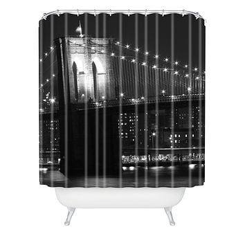 Leonidas Oxby Brooklyn Bridge 125 Shower Curtain