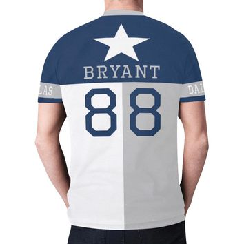 Dallas Football #88 (2010-2017) State of Texas Flag Men's Mesh Jersey T-Shirt