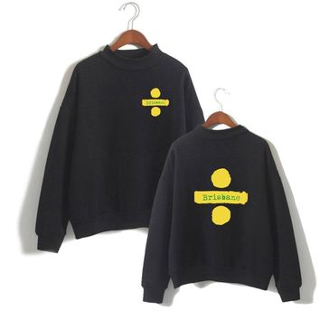KPOP BTS Bangtan Boys Army  Women Clothes 2018 Capless Ed Sheeran Turtlenecks Long Sleeve Kawaii  Sweatshirts Casual Harajuku Plus Size A-10232-WY12 AT_89_10