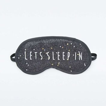 Lets Sleep In Eye Mask - Urban Outfitters