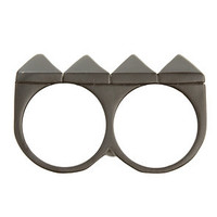 Obey Pyramid Ring in Black (Men's)