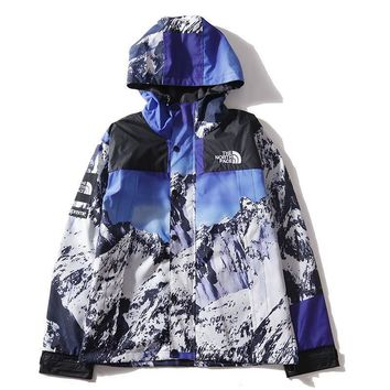 cc kuyou Supreme x The North Face Snow Jacket