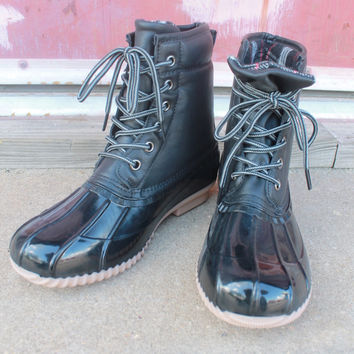 Black Duck Boots