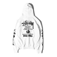 Trendsetter Stussy Women Men Fashion Casual Top Sweater Pullover Hoodie