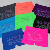 Love Dance LG  Booty Shorts  Perfect for dance & by TutuShabby