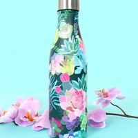 Succulents Water Bottle | Monday Dress Boutique