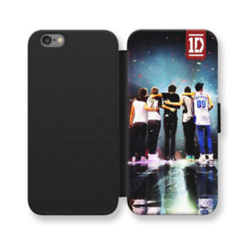 One Direction 1D Wallet iPhone Cases One Direction Samsung Wallet Leather Cases