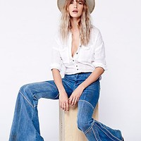 Free People Womens Seamed Bambi Flare