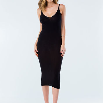 Clinging Curves Rib Knit Dress GoJane.com