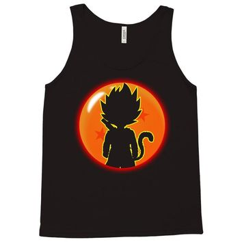 Kid Goku Saiyan With Dragon Ball 4 Star Tank Top