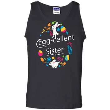 Family Matching Easter Outfit For Sister Tank Top
