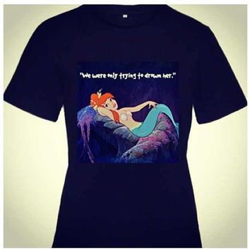 Peter Pan Mermaid Shirt S-Xl