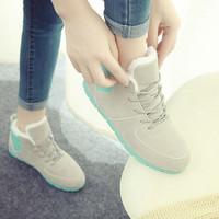 womens fur winter shoes gift