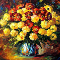 "Evening mood — PALETTE KNIFE1 Oil Painting On Canvas By Leonid Afremov - Size: 24"" x 30"""