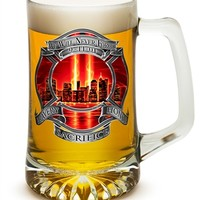 We Will Never Forget Red Sky 25 oz Tankard