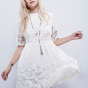 Free People Womens Amelie Mini Dress