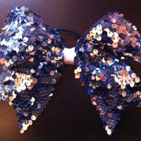 Super Sequin Cheer Bow  GORGEOUS Super Shiny by mybabygirliee