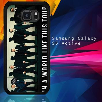 Backstreet Boys Bsb Z0125 Samsung Galaxy S6 Active  Case