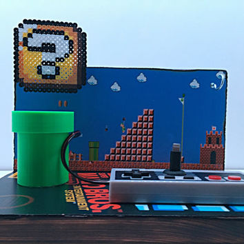 8-Bit Mario Iphone Charging Station