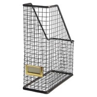 Threshold™ Bronze Rustic Wire Magazine Holder