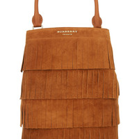 Burberry Prorsum - Fringed suede tote