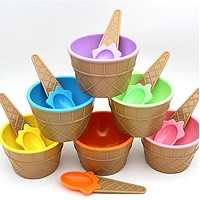 Kids Ice Cream Bowls