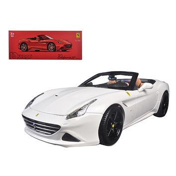 Ferrari California T Open Top Convertible White Signature 1:18 Diecast