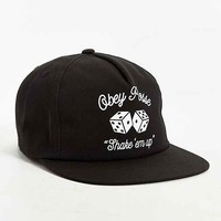 OBEY Dice Snapback Hat