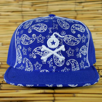 Logo Paisley Fitted Hat (1 of a kind)