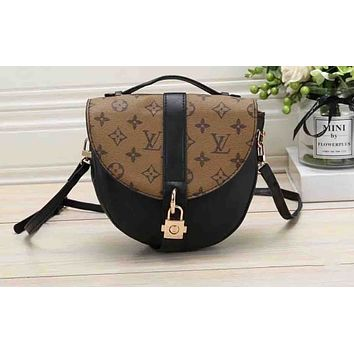 LV Hot Selling Lady's Printed and Coloured Shopping Bag Single Shoulder Bag
