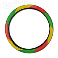 Rasta Steering Wheel Cover @ HippieHero.com